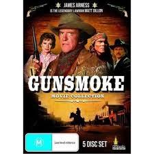 gunsmoke movie collection dvd 2011 5 disc set ebay