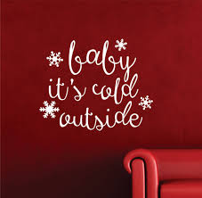 online get cheap holiday english aliexpress com alibaba group bany its cold outside english quotes wall stickers christmas special decor home children bedroom holiday decor