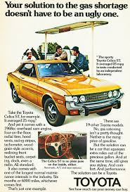 vintage toyota 1974 toyota celica ad classic cars today online