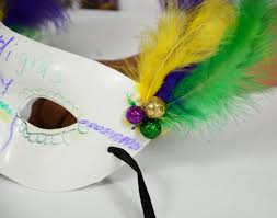 party ideas by mardi gras outlet crafts for kids masquerade masks