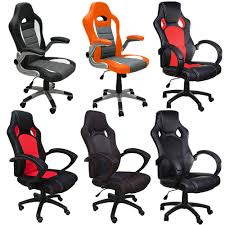 Gaming Chair Desk by Office Chair Desk Chair Racing Gaming Office Chairs Pu Leather