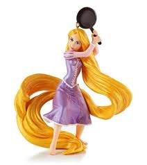 2013 fierce with a frying pan tangled disney hallmark