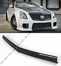 2 door cadillac cts v amazon com jcsportline carbon fiber front splitters for cadillac