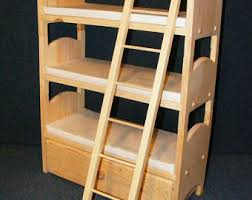 Stackable Bunk Beds Triple Bunk Bed Etsy