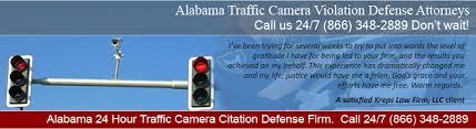 red light camera violation alabama traffic camera attorneys red light camera violation