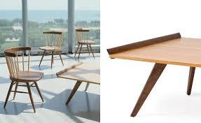 George Nakashima Furniture by Nakashima Splay Leg Table Hivemodern Com