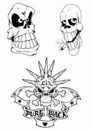 skull adn design img117 skulls demons flash tatto
