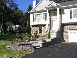 landscaping ideas for front of split level house collection