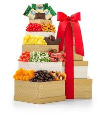 classic confections gourmet gift tower gift towers a