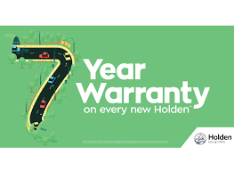 holden commodore logo 7 year warranty