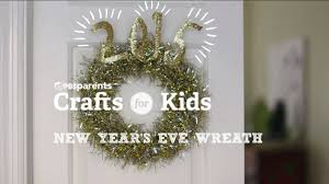 diy new year u0027s eve wreath crafts for kids pbs parents youtube