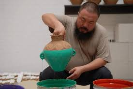 Ai Weiwei Dropping Vase Ai Weiwei Brings Controversial Exhibit To Brooklyn Ny Daily News