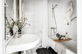Modern Vintage Bathroom Vintage Interior Design In Swedish Apartment