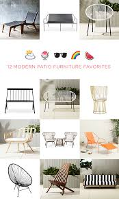 Patio Furniture California by Modern Outdoor Furniture That U0027s So Good Looking You U0027ll Want To