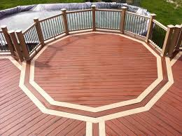 image wood deck with composite railing result for rails pinterest