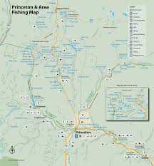 Princeton Map Fishing In The Similkameen Valley Enjoy Our Rivers And Lakes
