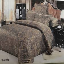 european cotton palace jacquard cotton bedding set high quality duvet cover 180x215cm flat sheet 210x230cm 2