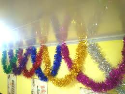wholesale 100 pieces tinsel garland 9 200cm ems fast free