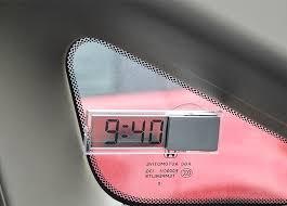 car ornaments durable digital lcd display car electronic clock