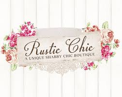 Shabby Chic Boutique Clothing by Pre Made Logo Template Cosmetics Make Up Vintage