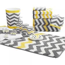 Yellow Bathroom Decor by Gray And Yellow Bathroom Rugs Bathroom Rug Shower Curtain Set Grey