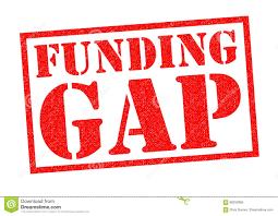 Financiering Financiering Gap Stock Illustratie Afbeelding 86250956