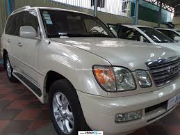 lexus sports car 2003 lexus lx470 2003 white kamai for sale in phnom penh on khmer24 com