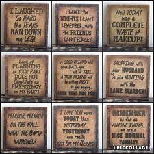 Quotes Sayings Rustic Primitive Home Décor Plaques & Signs