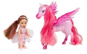 image barbie magic pegasus cloud princess rose doll