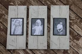 rustic wall decor rustic picture frame picture frame set