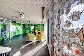 100 google office google mexico space archdaily google