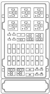 ford e series e 150 2008 u2013 fuse box diagram auto genius