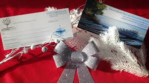 christmas gift cards strong roots yoga and paddle boarding