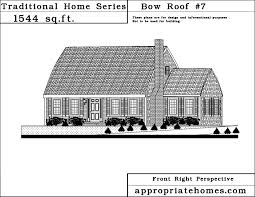 Cape Style Home Plans Bow House Plans Pleasant Design 8 Cape Cod Home Bow Roof Style