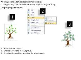 timeline ppt template decision tree business layout powerpoint