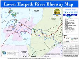 Tennessee On A Map by Harpeth River Blueway Harpeth Conservancy