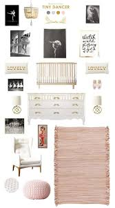Ballerina Nursery Decor Tiny Dancer Nursery Inspiration Nursery And Babies