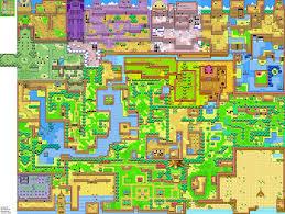 The Legend Of Zelda A Link Between Worlds Map by Legendofzelda Oracleofseasons Holodrum Summer Png Png Grafik