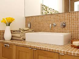 Bathroom Counter Ideas Colors Nice Tile Bathroom Countertops For Home Remodel Ideas With