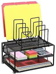 Black Mesh Desk Organizer Black Mesh Desk Organizer Office Accessories Storage Files Desktop