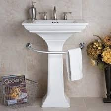 curved towel bar for pedestal sink the pedestal sink towel bar is a great solution for small bathrooms