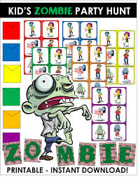 zombie apocalypse party games