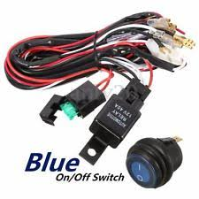 lamphus off road led light bar wiring harness 4 pin relay ebay