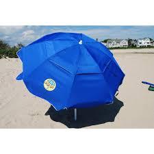 Lightweight Beach Parasol Dig Git Beach Umbrella W Integrated Anchor U003c Beach Umbrellas