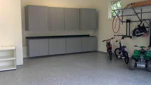 well turned garage design ideas showing steel cabinets feat bright