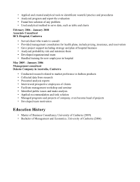 Resume Samples Consulting by Consulting Resume Sample Free Resume Example And Writing Download
