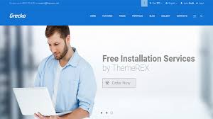 templates for professional website best multipurpose html website templates collection themerex
