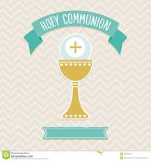 Invitation Card For Holy Communion Holy Communion Card Template First Cream Aqua Copy Space