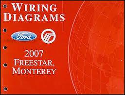 2007 ford freestar u0026 mercury monterey wiring diagram manual original