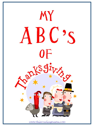 my abc s of thanksgiving journal thanksgiving gratitude and